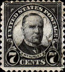 MC Kinley. 1843-1901. US Postage.