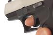 Leinwanddruck Bild - Schusswaffe