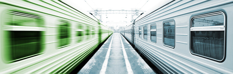 Symmetrical trains