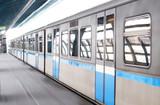 Fototapeta komunikacja - zamieniać - Metro