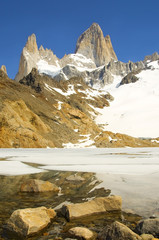 View on top of Fitz Roy