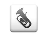Boton cuadrado blanco silueta tuba