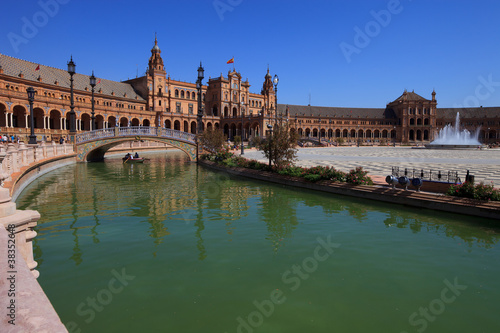 Seville, plaza de espana (spain square)