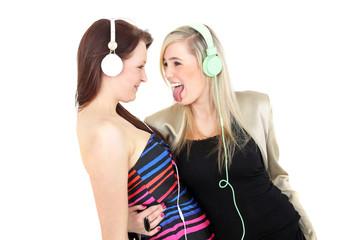 Zusammen Musik hören