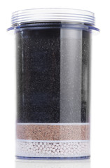 Water purification filter, isolated