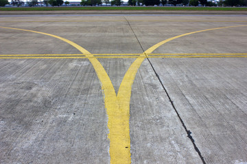 Taxiway Guide line
