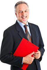Businessman portrait isolated