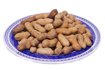 peanuts on white