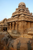 UNESCO Heritage site,Mamallapuram,India