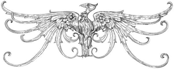 eagle - emblem - a heraldic sign