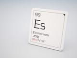 Einsteinium - element of the periodic table