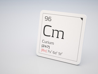 Curium - element of the periodic table