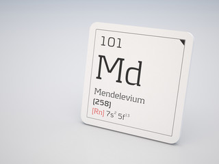 Mendelevium - element of the periodic table