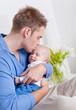 bett papi und baby