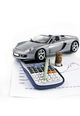 Car, Calculator, Money and Pen 6