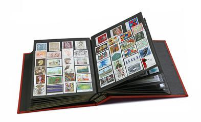 album de timbre poste