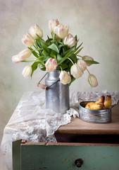 Tulpen und Birnen