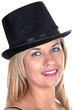 blonde girl with top-hat
