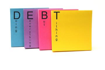 DEBT Acronym