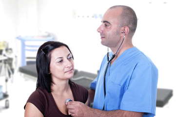 doctor will listen to a patient