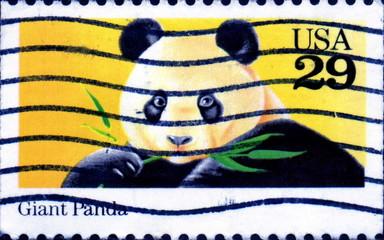 Giant Panda. US Postage.