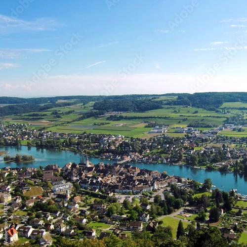 STEIN AM RHEIN bei Schaffhausen / Schweiz