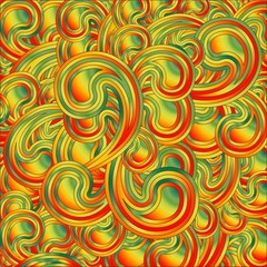 Sfondo Astratto Gocce Colori-Abstract Colors Background
