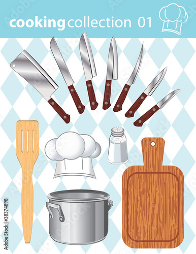 Kitchen and cooking collection