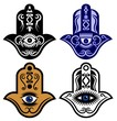 Hamsa Hand Or Eye of Fatima