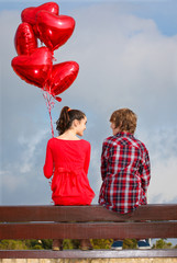 valentines day couple dating