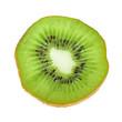 Beautiful slice of fresh juicy kiwi