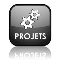"""Bouton Web """"PROJETS"""" (catalogue produits services clients)"""