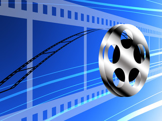 Film roll, Technology concept