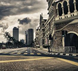Detail of Kuala Lumpur, Malaysia
