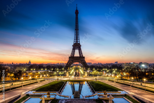 Tour Eiffel Paris France - 38382416
