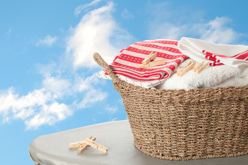 Basket Of Washing