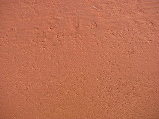 painted cement wall