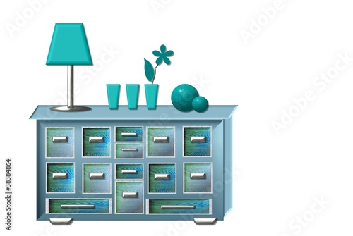 jolly apothecary cabinet color trend petrol