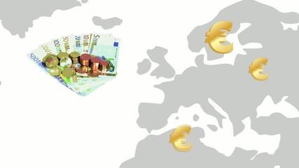 discesa dell'euro