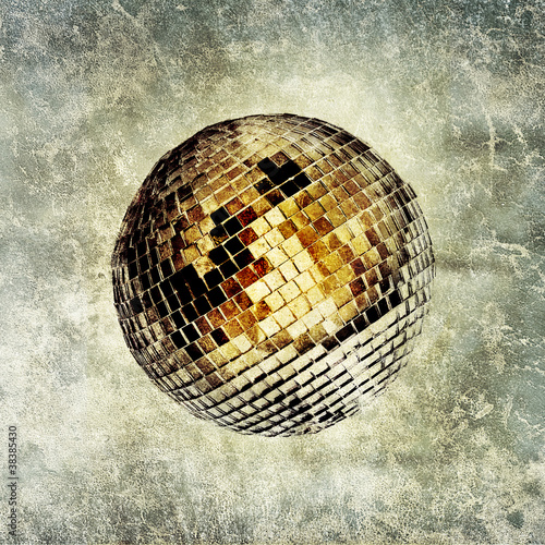 disco ball print