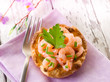 appetizer canape with shrimp