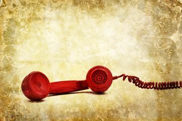 phone receiver print