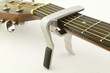 Capo Fitted to an Accoustic Guitar