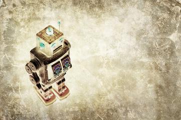 tin robot print