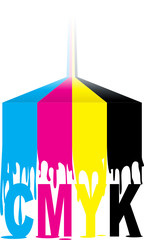 CMYK colours run-obvious