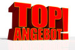 TOP ANGEBOT 3D-Text
