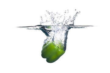 Green Bell Pepper Splash
