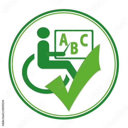 Logo Barrierefrei (Bildungseinrichtung)