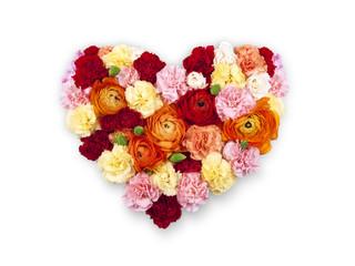 Bouquet Fleur Coeur