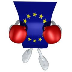 European Union Flag Boxer